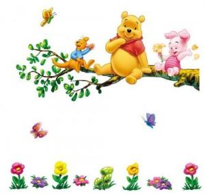Kinderzimmer wandgestaltung - Babyzimmer winnie pooh ...