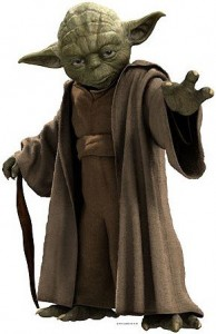 3D Wandtattoo Yoda XXL