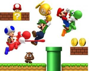 Wandsticker Super Mario Bros Onlineshop Mit Gunstigen Preisen