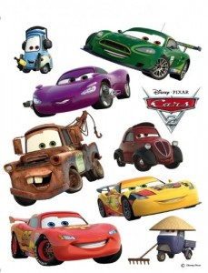 Wandtattoo Wandsticker Tattoo Wanddeko TÜV - Disney Car's Lightning McQueen