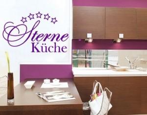 Wandsticker 5 Sterne-Küche