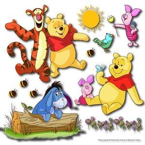 "DISNEY Wandsticker 3D ""Winnie the Pooh"" Wandtattoo Wanddeko"