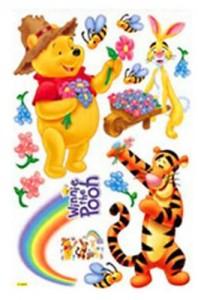 HL6856 Winnie the Pooh & FRIENDS Dekor fürs Kinderzimmer Wandtattoo 90 x 60cm
