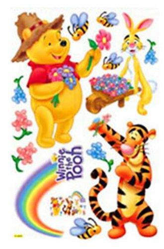 Kinderzimmer Tapeten Winnie Pooh : HL6856 Winnie the Pooh & FRIENDS Dekor f?rs Kinderzimmer Wandtattoo