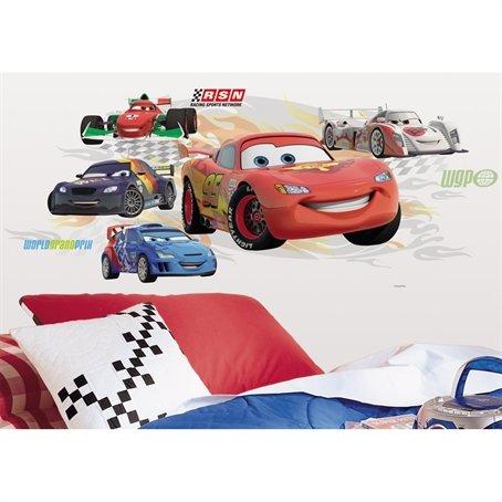 Disney Pixar Cars LIGHTNING McQUEEN JUMBO Wandtattoo Sticker- Direkt aus den USA