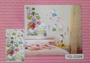 3 D Wanddekoration Hello Kitty 2 Wandtattoo Wandaufkleber Wandsticker Disney