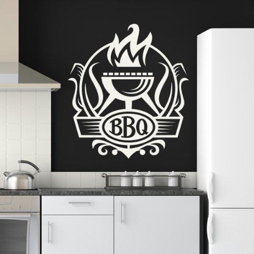 grill badge wandtattoos g nstig einfach sch n top angebote. Black Bedroom Furniture Sets. Home Design Ideas