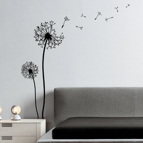 wandtattoo pusteblume klebefieber reuniecollegenoetsele. Black Bedroom Furniture Sets. Home Design Ideas