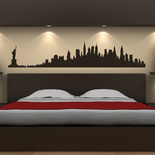 New York Skyline Wandsticker