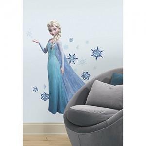 Roommates 23710 - Frozen Elsa Riesen-Wandtattoo/Sticker, geblistert, 124 x 105 cm