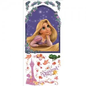 RoomMates® Jumbo Großes Disney Princess Rapunzel Flynn Prinz Wandtattoo Wandsticker Wandbild