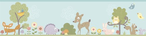 Kinderzimmer Bordüre Tiere