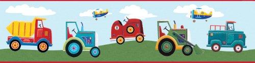 Fahrzeugbordüre Kinderzimmer