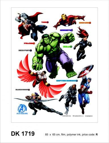 Wandsticker Avengers