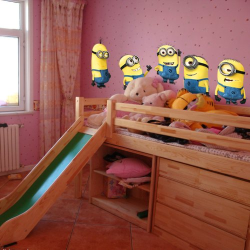 Despicable Me Minions Wandaufkleber Cartoon-Wand-Dekor