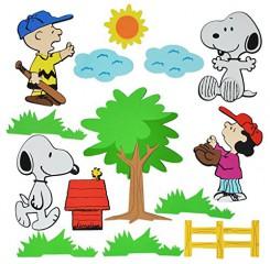 wandsticker Snoopy