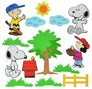 wandsticker Snoopy