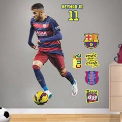 Wandsticker Neymar fußball FC Barcelona